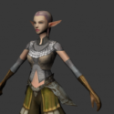 Elf From Lineage 2 Free 3d Model