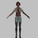 Combat Character 3d Model