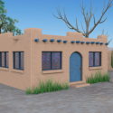 Country House Free 3d Model Building