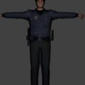 Cop Free 3d Model