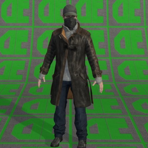 Aiden Pearce Man Character