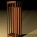 Coat Locker Free 3d Model