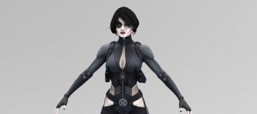 Domino Marvel Personaje