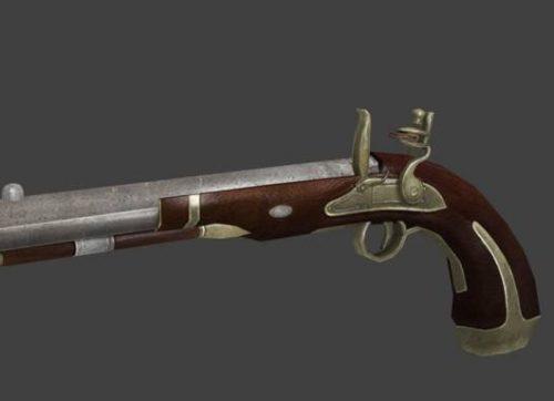 Flintlock Pistol-aseeton