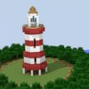 Minecraft World Scene 3d Model