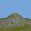 Small Mountain 3d Model