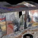 Worn Down House Building 3d Model