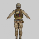 Assault Free 3d Model