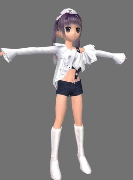 X Girl Anime