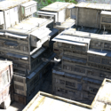 Chinese Yard Building 3d Model