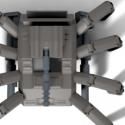 Spider Tank Free 3d Model