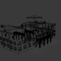 Mansion Auditore Building Free 3d Model