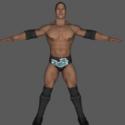 Smackdown Vs Raw 2008- The Rock
