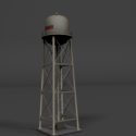 Water Tower Free 3d Model
