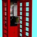 British Telephone Box Free 3d Model
