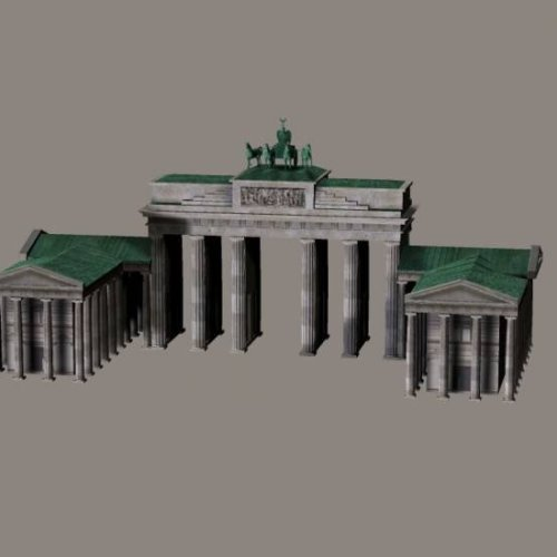 German Brandenburg Gate