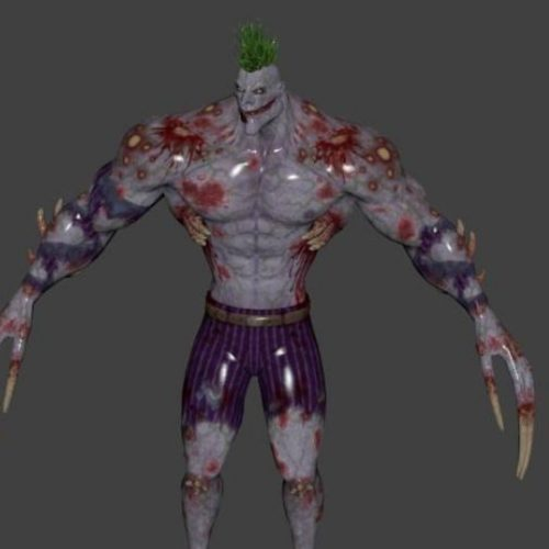 Venom Joker Rigged