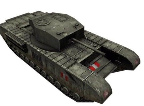 WW2 Churchill Tank