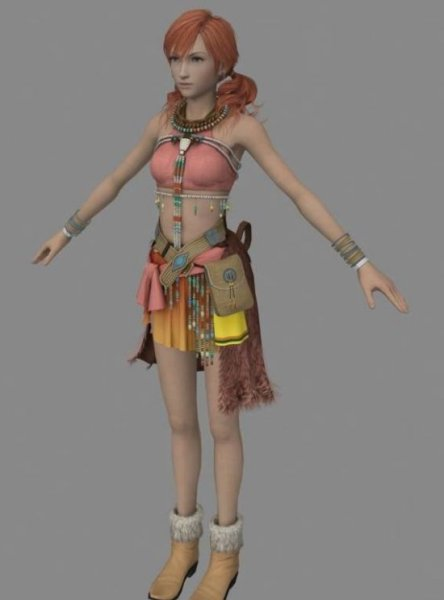 Vanille Final Fantasy Character