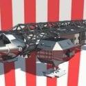 Future Spaceship Free 3d Model