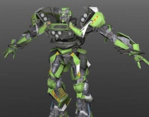 Ratchet Transformer RObot 3d Model (obj,lwo) Free Download