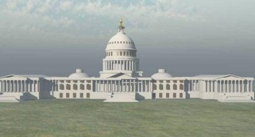 Yhdysvaltain pääkaupungin rakennus