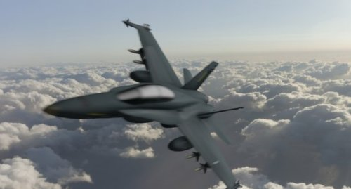 F18 Hornet -lentokoneet