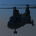 Sea Knight Helicopter Free 3d Model