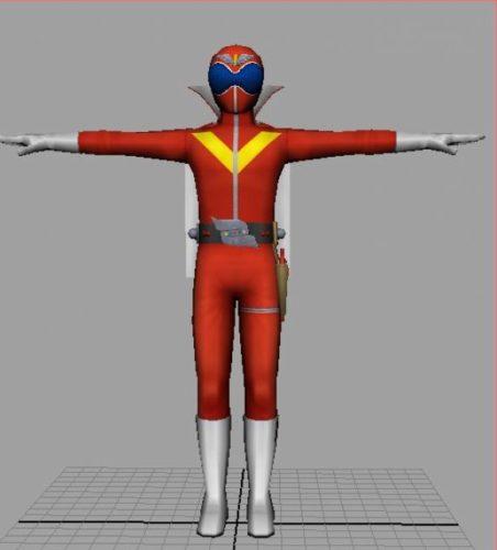 Goranger Models Free 3d Model (obj,dae,mb,tga) Free Download