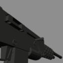 Wastelande Rifle 9000  Poly Free 3d Model