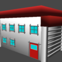 Pallet Town House Free 3d Model