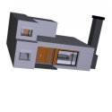 Modern Chimney House Building