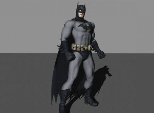 Download Freebies 3d Free Batman Character Free