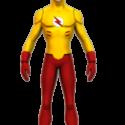Flash Man Free 3d Model