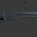 Colt 1860 Revolver Free 3d Model