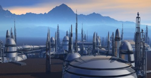 Helidron Fantasy City