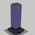 Simple Tower Free 3d Model