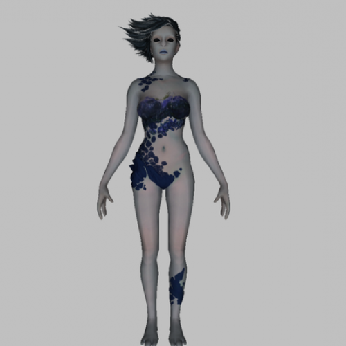 free female 3d models