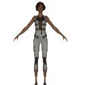 Bastille Prison Woman 3d Model