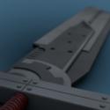 Cloud´s Sword Free 3d Model