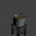 Old Water Tower Free 3d Model