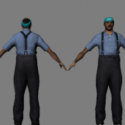 A Member Of A Gang Color 2 Free 3d Model