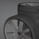 KS7 Wheel Free 3d Model