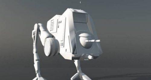 Star Wars Re-at-pt Free 3d Model (3ds,obj,3dm) Free Download