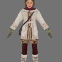 Lyra Belacqua vinter