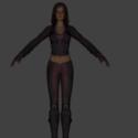 Talia Al Ghul Free 3d Model