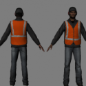 Road Worker Character