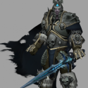 Arthas Lich King Rigged Personaje