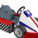 Mario's Kart Free 3d Model