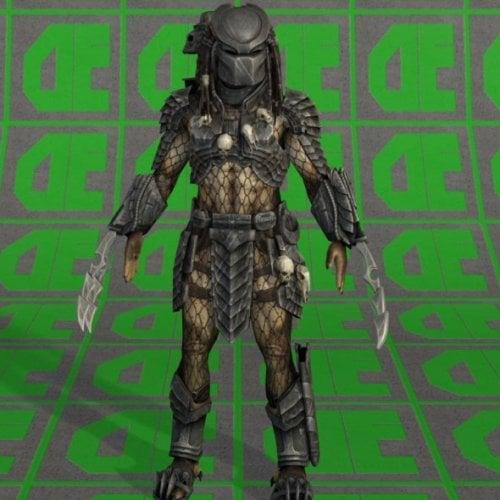 Predator Character Free 3d Model ID11536